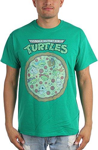 Teenage Mutant Ninja Turtles -  T-shirt - Uomo Green Large