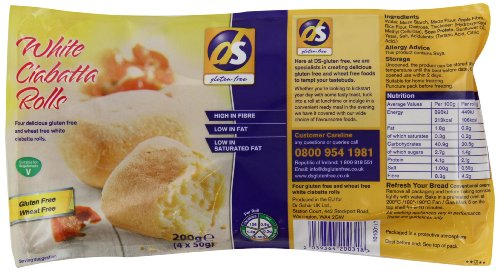 Dietary Specials Ciabatta Rolls 200 g (Pack of 6) Test
