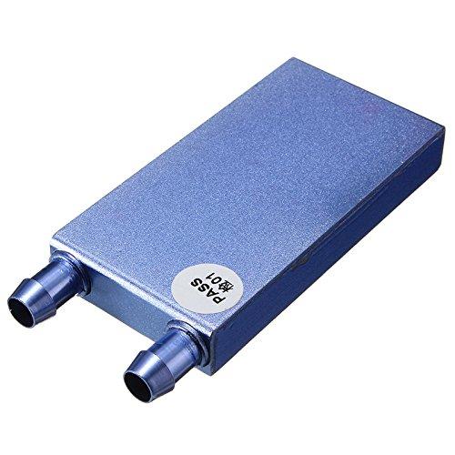 ILS - Aluminium CPU-Kühlblock für CO2 Cooler flüssiges Wasser Cool System 122x41x12mm