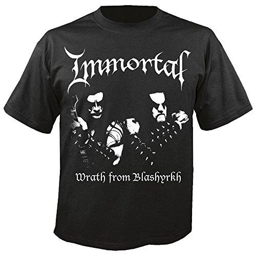 IMMORTAL - Wrath from Blashyrkh - T-Shirt Größe M