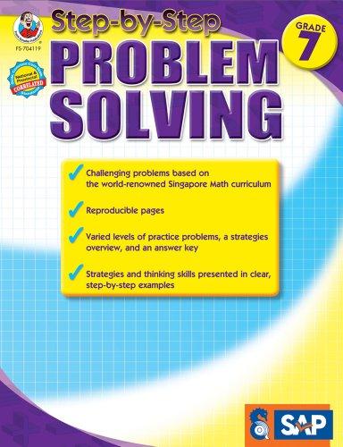 Math Step-By-Step Problem Solving, Grade 7