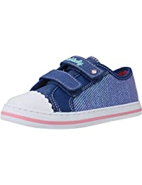 Zapatillas Niña Lona PABLOSKY Azul Glitter -939720-