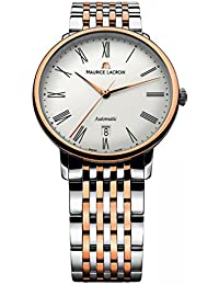 Maurice Lacroix Men's LC6067-PS103-110 Les Classiques Analog Display Swiss Automatic Silver Watch