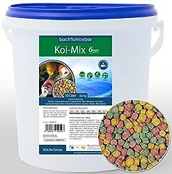 Koifutter Koimix 6mm - Koi Pellets Koi Futter, Teichfutter (10 L Eimer)
