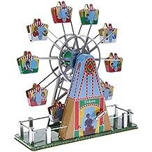 MagiDeal Vintage Modelo de Rueda de Fortuna con Música Juguete de Cuerda Reloj Regalos Creativo de