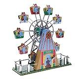 MagiDeal Riesenrad Modell Mit Musik Wind-up Uhrwerk Blechspielzeug Sammlung Geschenke