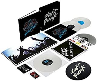 Alive 1997 / Alive 2007 - Coffret Deluxe Limité (4 Vinyles) by Daft Punk (B00PCGY9OU) | Amazon Products