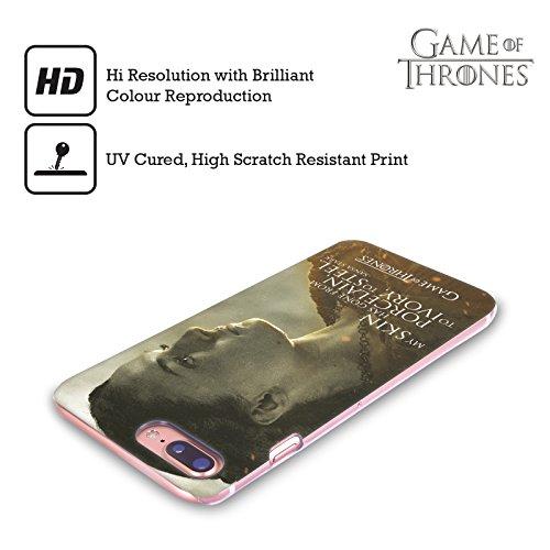 Ufficiale HBO Game Of Thrones Jon Snow Ritratti Dei Personaggi Cover Retro Rigida per Apple iPhone X Sansa Stark