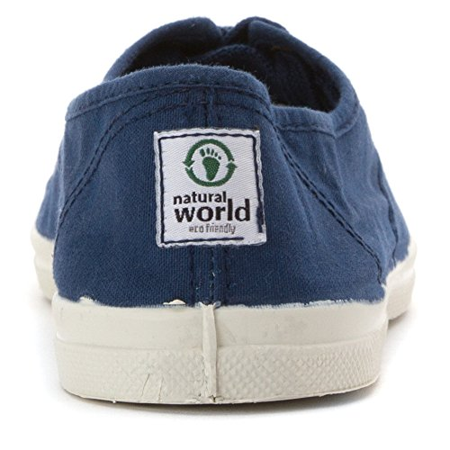 Basket Natural World 102 Blanc Bleu