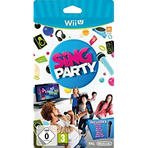 Sing Party inkl. Mikro [Software Pyramide] – [Nintendo Wii U]