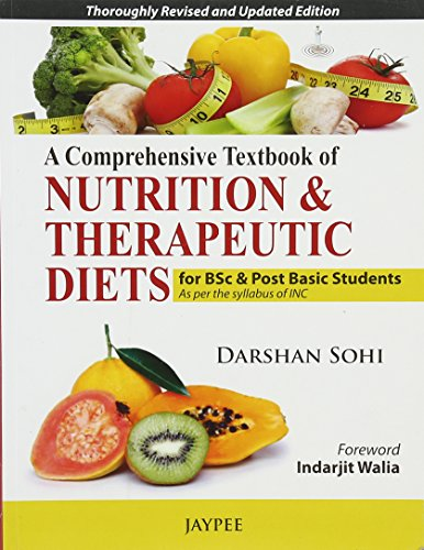 A Comprehensive Textbook Of Nutrition & Therapeutic Diets For Bsc & Post  Basic Students Cd..