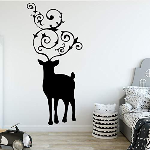 zhuziji Cartoon Popeye Vinyl Aufkleber Dekor Wohnzimmer Schlafzimmer wasserdichte Wandkunst 64x141cm -