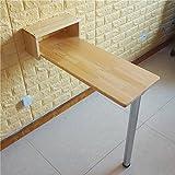 LPYMX Tavolo da bar tavolo pieghevole, tavolo da biliardo americano piccolo, tavolo da pranzo color legno, tavolo pieghevole (dimensioni : 80 * 20cm)
