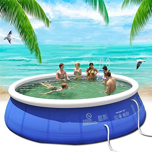 Piscina Inflable, La Piscina De Plástico para 14 Personas del Patio De Verano Máximo Es Adecuada para Adultos Y para Niños Piscina De Verano,XL