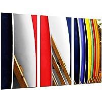 Poster Moderno Fotografico Tabla de Surf de Colores, Surf, Deporte, 97 x 62