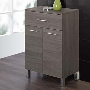 Feridras base bagno doppia 33x60x84 rovere scuro linea mondo casa e cucina - Mobile stiro mondo convenienza ...