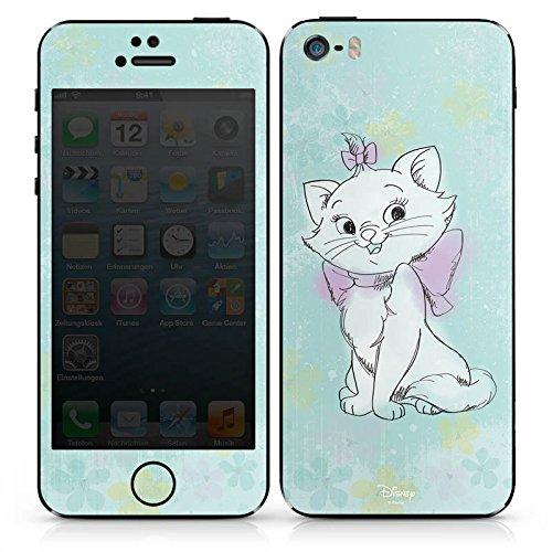 Apple iPhone 5s Case Skin Sticker aus Vinyl-Folie Aufkleber Disney Aristocats Marie Fanartikel Merchandise DesignSkins® glänzend