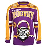 NFL Ugly Sweater/Pullover Christmas MINNESOTA VIKINGS Teddy Bridgwater