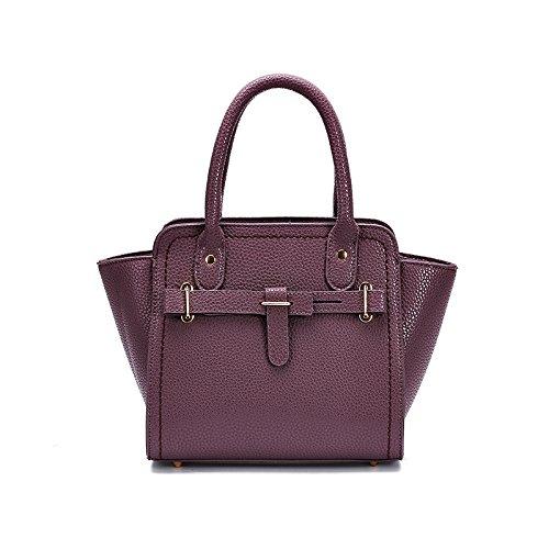 Mefly Sommer Mode Handtasche Geprägte Handtasche Handtasche Und Der Wind Violet