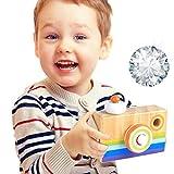 HaloVa Holz-Kamera-Spielzeug, kreatives hängendes Kaleidoskop-Kamera-Bild, Spielzeug für Kinder, Kinder und Kleinkinder