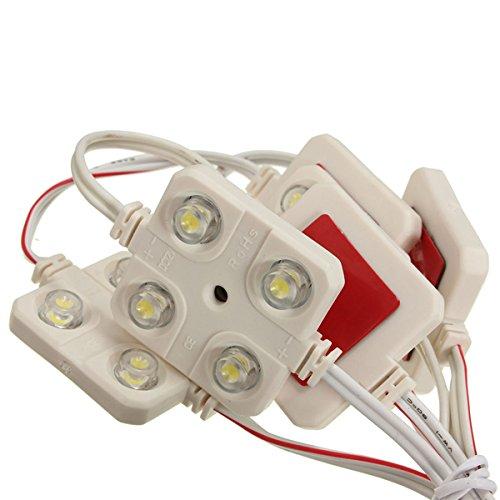 Pigloo 10 X Voiture 12v 4led Kit D'éclairage Intérieur