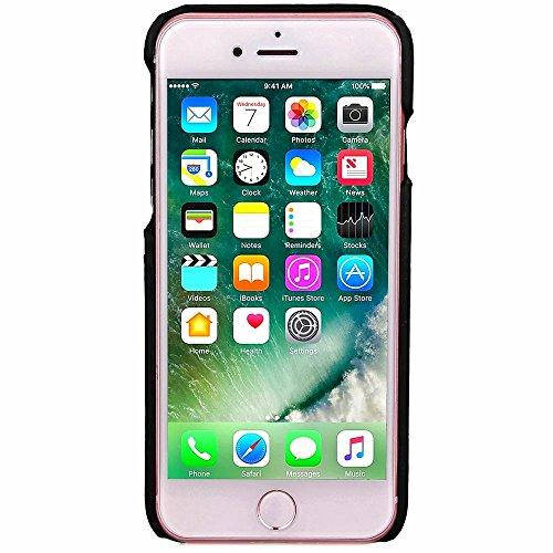 iPhone Case Cover Housse IPhone 7 Plus Cover Case Business Style PC + cuir avec fente pour carte Retour Hard Cover pour Apple IPhone 7 Plus de 5,5 pouces ( Color : 1 , Size : IPhone 7 Plus ) 6