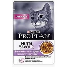 Purina ProPlan Delicate en Salsa Comida para Gato Adulto Pavo 24 x 85 g
