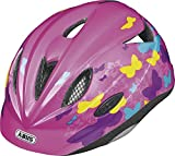 ABUS Kinder Fahrradhelm Rookie butterfly pink S
