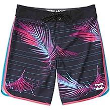 Billabong alineación de 73x 19–Pantalones cortos para hombre, hombres, alineación de 73x 19, negro, 38
