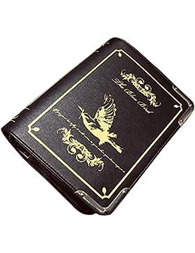 Partiss Damen Magic Book Bibel Shaped Tasche Schwarz Gothic Lolita Handtasche Umhaengetasche Cosplay Shouldertasche...