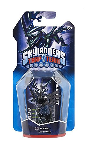 Skylanders Trap Team Single Character Blackout -