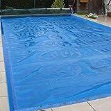 lquide Couverture Solaire pour Piscine chauffée Couverture Solaire pour Couverture de Piscine rectangulaire creusée et Hors Sol,...