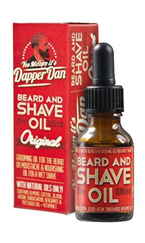 Dapper Dan - Beard and Shave Oil 25ml - Erotisierendes Bartöl im Stil der 1930er Jahre