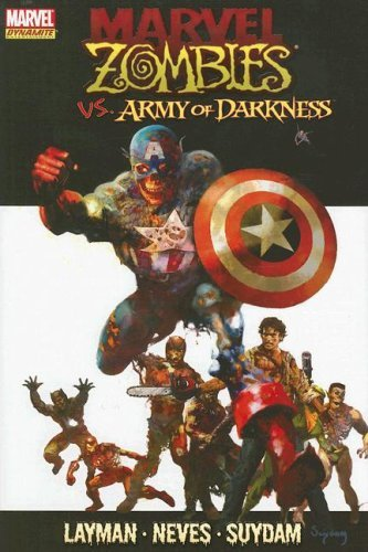 Zombies Marvel Hardcover (Marvel Zombies: Captain America - Army of Darkness (Marvel Dynamite Entertainment) by John Layman (2008-02-13))