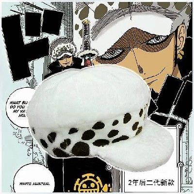CoolChange One Piece Mütze von Trafalgar Law nach dem Zeitsprung Cosplay (Hearts Kostüm Of Halloween Ace)