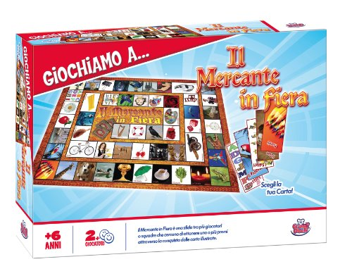 Grandi giochi gg90027 - mercante in fiera