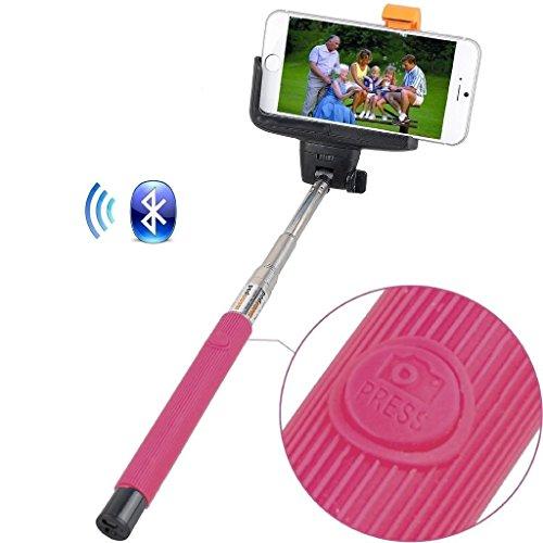 Remote Camera selfie Stick (rosa) Rivero senza