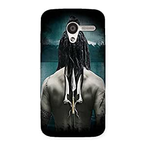 NEO WORLD Premium Devine Trishul Back Case Cover for Moto X