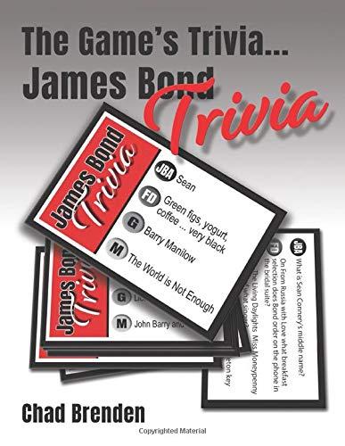 The Game's Trivia...James Bond Trivia