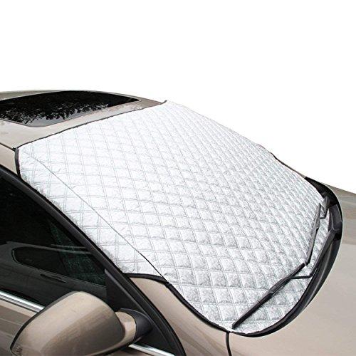 CNMF Copertura per Parabrezza, per Protezione UV Parasole per Protezione antigelo Parapolvere per Parabrezza Copertura per Gelo, 147cm x 100cm