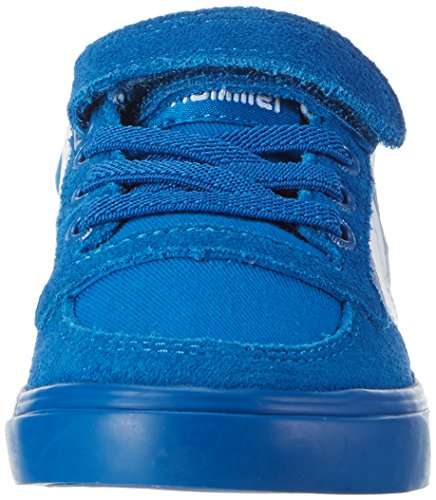 Hummel Unisex-Kinder Slimmer Stadil Low-Top Blau (Imperial Blue)