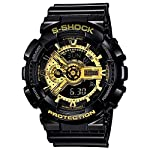 Faawn Analogue - Digital Multi-Functional Stainless Steel Dual Time Outdoor Golden Dial Sports Watches for Mens and Boys