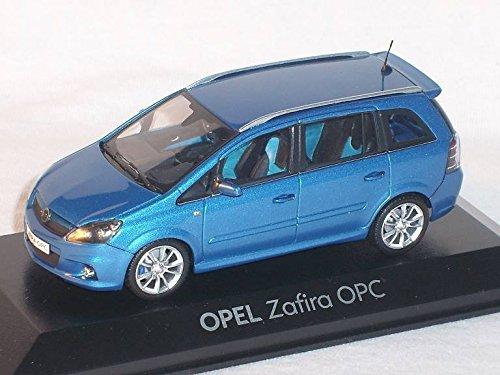 Preisvergleich Produktbild OPEL ZAFIRA OPC B BLAU 1/43 MINICHAMPS MODELL AUTO MODELLAUTO SONDERANGEBOT