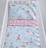 Kids Club Magic Unicorn Cot Duvet Cover Set