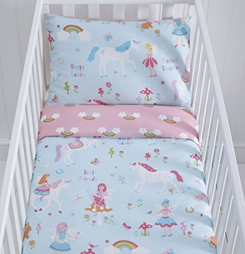 Kids Club Magic Unicorn Cot Duve...