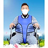 Älterer Rollstuhl Rutschfester Fester Gurt, verstellbare Patienten Sessel Rückhaltegurt langlebige Sicherheitskleidung