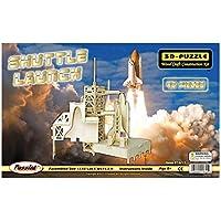 """Comparador de precios Puzzled, Inc. 3D Natural Wood Puzzle - Shuttle Launch by """"Puzzled, Inc."""" - precios baratos"""