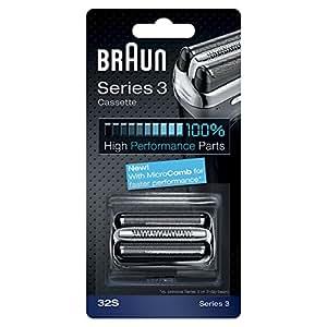 Braun 32S Replacement Foil Multi Silver BLS Cassette