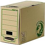 Fellowes Bankers Box Earth Series 200 MM, formato A4, 100 Percent in materiale riciclato, confezione da 20, colore: marrone
