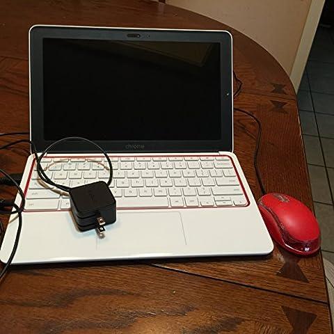 HP Chromebook 11 (White/Red)(Versión EE.UU., importado)